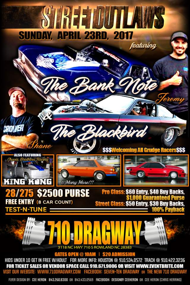710 Dragway Street Outlaws Sunday, April 23rd resized