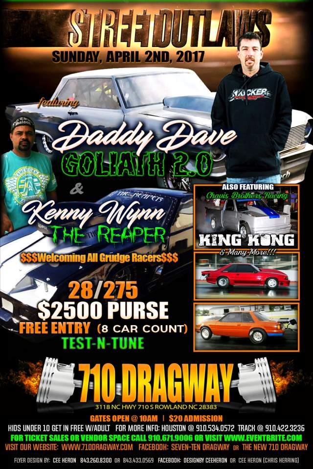 710 Dragway Street Outlaws Sun, April 2nd resized