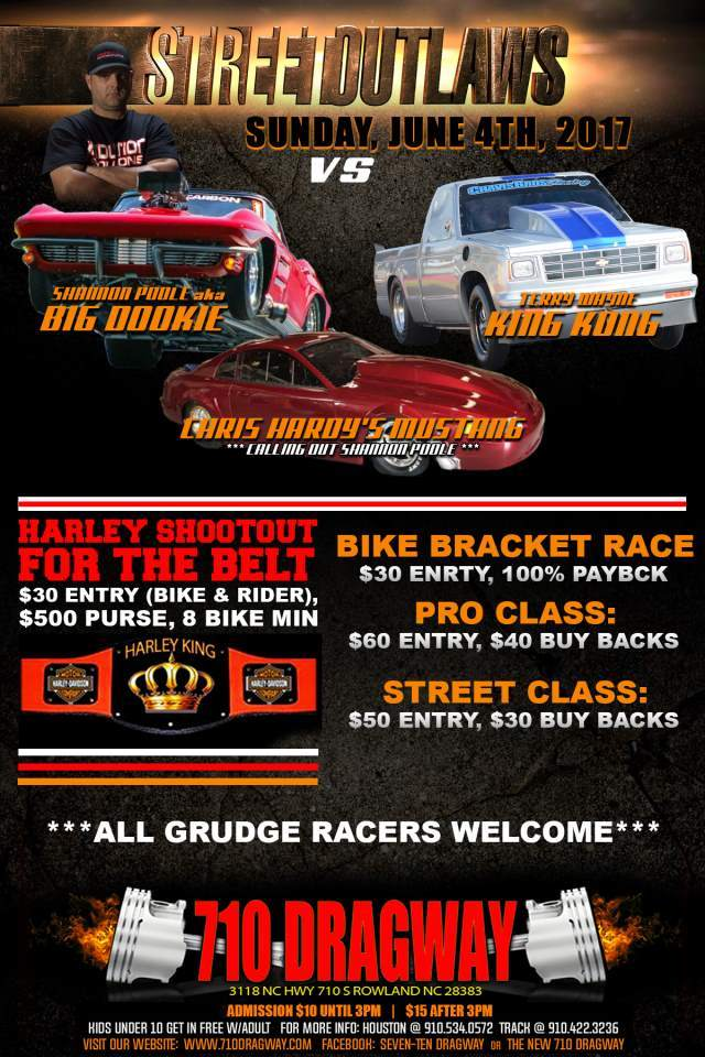 710 Dragway Street Outlaws Shannon Poole (Sun, June 4th)- resized