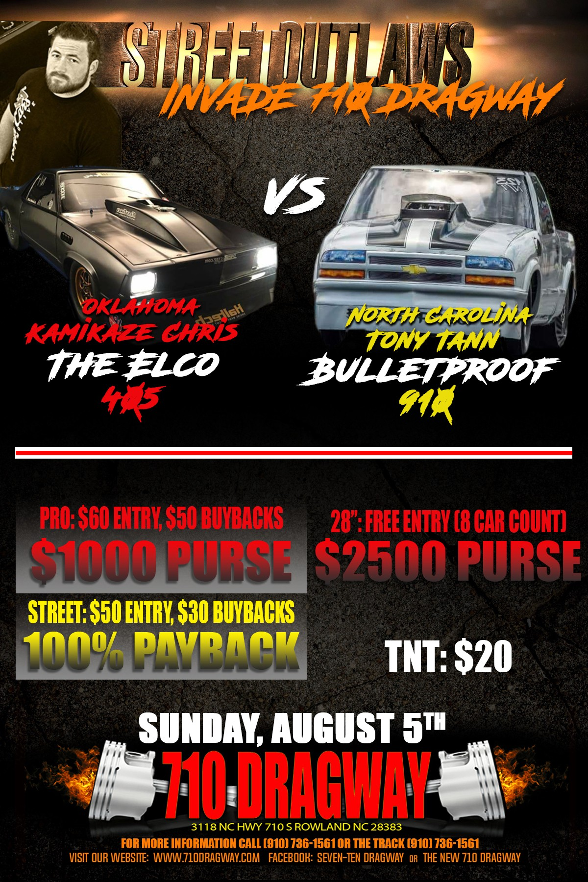 August 5 - Street Outlaws