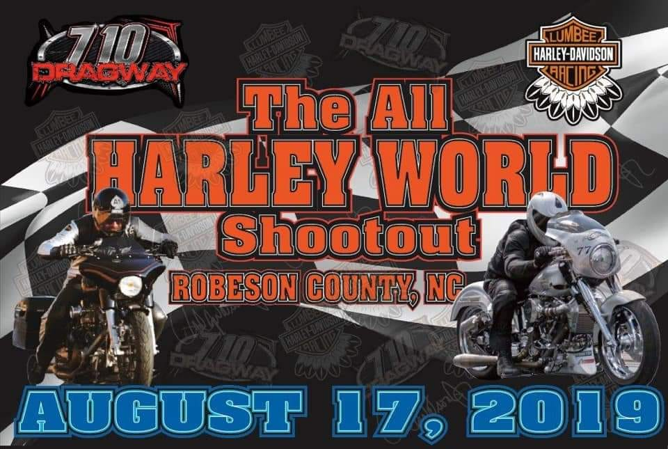 Harley World Shootout Sun, Aug 17th